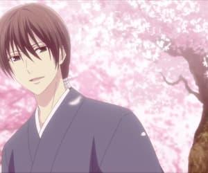 anime, flower, and anime boy image
