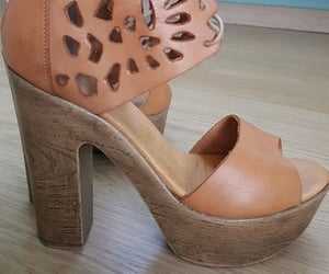 brown, shoes, and fashion image