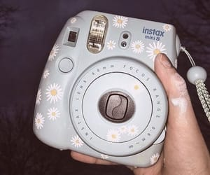 aesthetic, light blue, and painting image