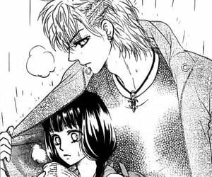 black and white, couple, and jacket image