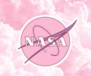 nasa, pink, and wallpaper image