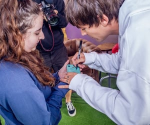 fans, festival, and louis tomlinson image