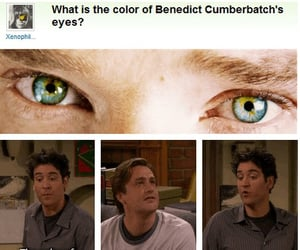 eyes, benedict cumberbatch, and funny image