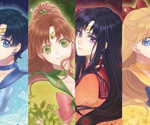 anime, aino minako, and sailor soldiers image