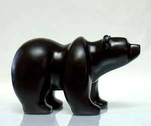 bear, online shopping, and hand carved image