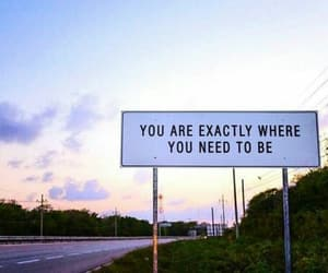 quotes, sign, and travel image