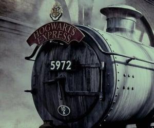 harry potter, wallpaper, and hogwarts express image