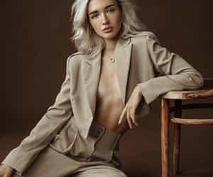 beige, blogger, and blonde image