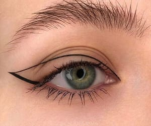 euphoria, eyeliner, and make up image