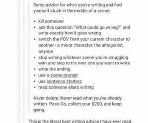 authors, poets, and writing advice image