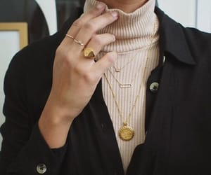 fashion, rings, and gold image