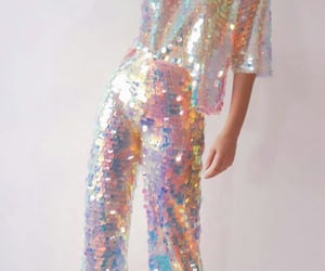 fashion, holographic, and holo image