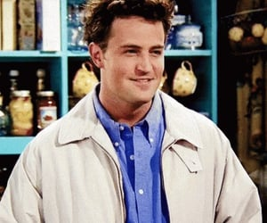 friends, chandler, and Matthew Perry image