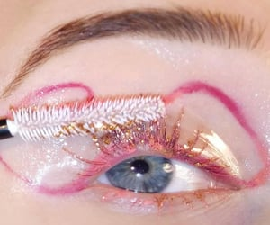bold, glitter, and cute image