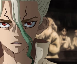 anime, anime boy, and dr. stone image