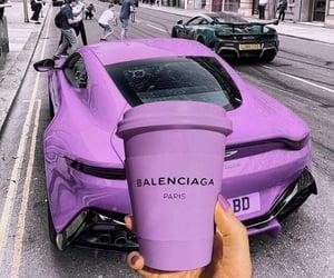Balenciaga, luxury, and purple image