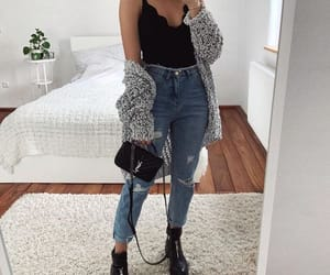 outfits, black, and moda image