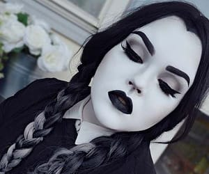 addams family, Halloween, and makeup ideas image