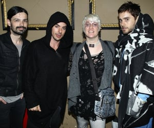 30 seconds to mars, tomo milicevic, and fan image