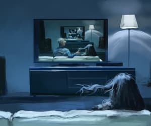 creepy, evil, and ghosts image