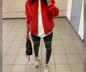 fashion, bomber jacket, and outfits image