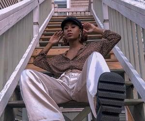 aesthetic, égirl, and black girl image