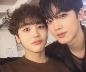 x1, yohan, and hyeongjun image