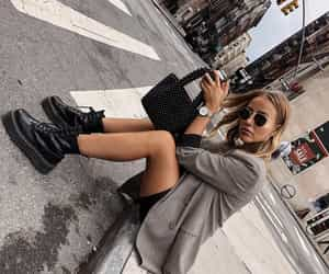 blogger, dr martens boots, and look image