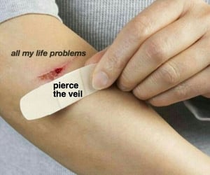 pierce the veil, ptv, and my life problems image