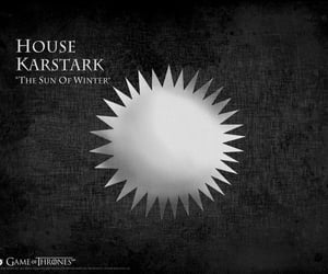 game of thrones and house karstark image