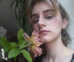 bambi, indie, and flower aesthetic image
