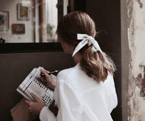girl, hair, and chanel image