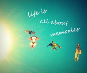 blue, life, and memories image