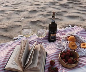 books, picnic, and read image