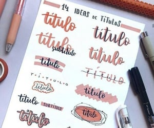 notes, school, and lettering image