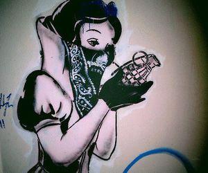 snow white, disney, and art image