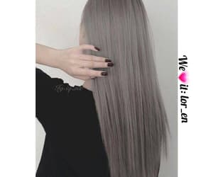 grey hair, حب عشق الم فراق, and girls. boys. friendship image
