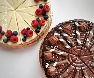 beauty, cake, and chocolate image