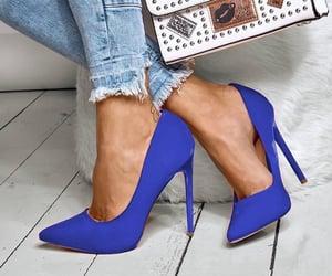 beautiful, blue, and elegance image