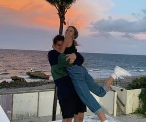 couple, aesthetic, and hug image