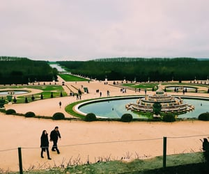 garden, photograph, and paris image