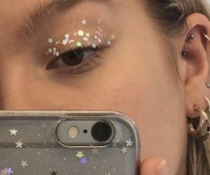 stars, makeup, and aesthetic image