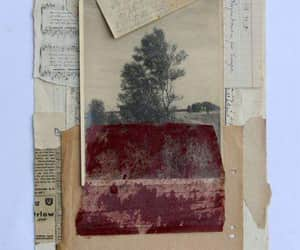 art, Collage, and old image