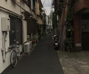 bike, Houses, and japan image