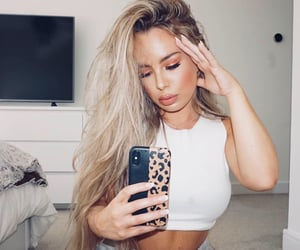 blonde hair, fashion, and pretty image