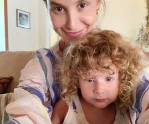 mother, son, and whitney port image