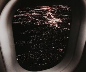 travel, airplane, and view image