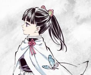 anime, anime girl, and demon slayer image