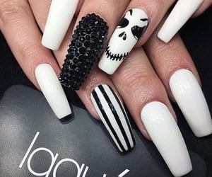 Halloween, halloween nails, and halloween nails art image