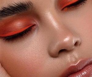 blush, lips, and orange image